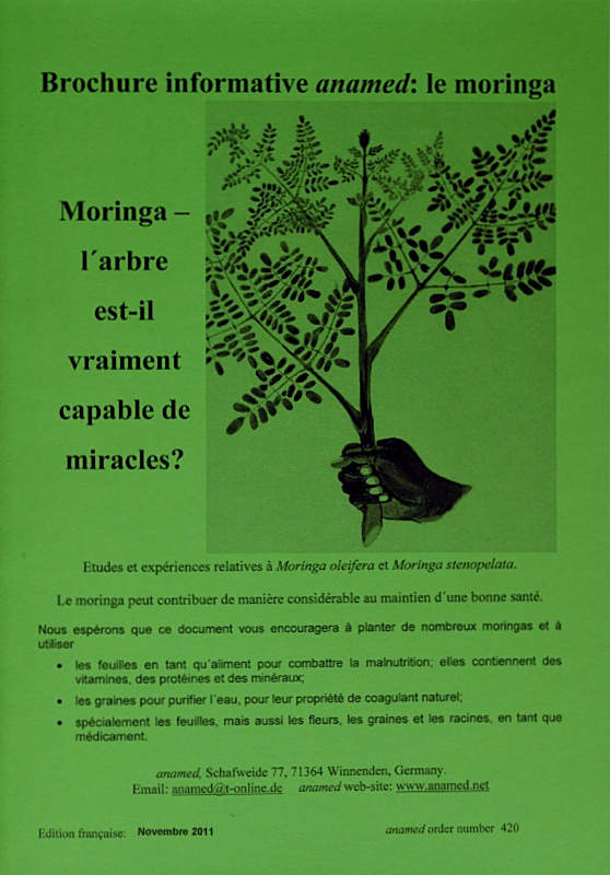 "Book ""Brochure informative anamed: le moringa"""